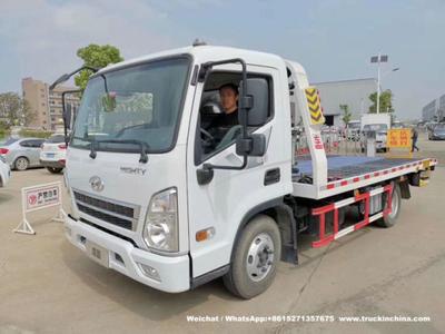 Beiben Heavy Duty Rotator Wrecker Tow Truck , 30-40 Ton