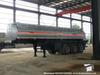 Customizing Dilute or Concentrated Sulfuric Acid Tanker Trailer (3 Axles 40T 22CBM -30CBM Sulphuric Acid Tanker)