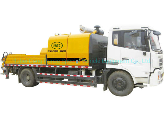 King Run Truck Mounted Concrete Pump 30-90m3 / H Rhd. LHD. 4X2.4X4