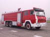 S2000 6X4 /6X6 All Whell Drive Shacman Fire Truck Duble Cabin Water Tank 8000L