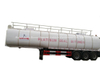 Hot Liquid Asphalt Tanker Trailer Truck 50, 000 Liters with Two Burner Heater Insulation Layer for Transport Bitumen, Liquid Asphalt, Coal Tar Oil, Crude Oil