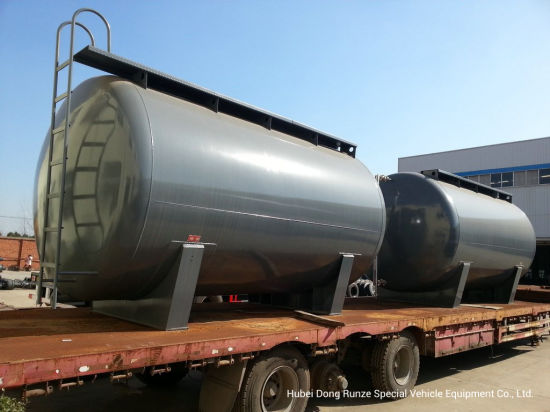 Hydrochloric Acid Storage Tank (Steel Lined LLD PE 16mm) -20000L for Storage Bleach, Raw Mixed Acid, Ferric Chloride, Oilfield Chemicals, Corrosive Wastes