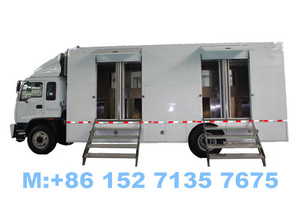 ISUZU Mobile Toilet Truck Customizing