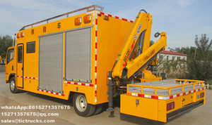 Engineering Rescue Truck Customizing
