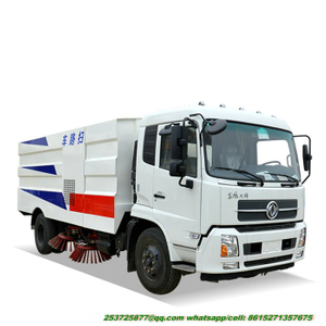 King Run Road Cleaning Truck Street Sweeper Truck for Sale 170hp /190hp