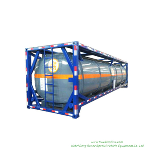 40FT Customizing Acid Tank ISO Hydrochloric Acid Solution 28, 000liers -40, 000liers HCL(max 35%), NaOH (max 50%), NaCLO (max 10%), PAC (max 17%),H2SO4(60%,98%) ,HF ( 48%),H3PO4 (10%-85%),NH3. H2O,H