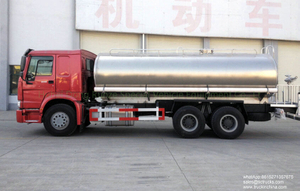 Sinotruk HOWO 10 wheels Water Tank Transport Vehicle 20000L-22000L