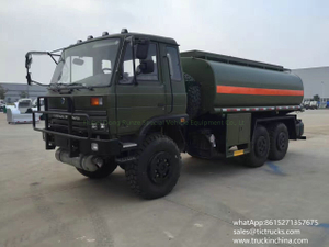 All wheel drive offroad 6x6 Refuel vehicle 8000L -10000L LHD sale price