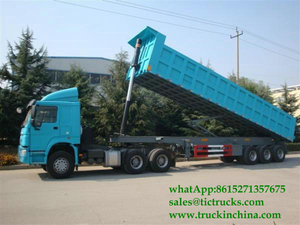 SINOTRUK HOWO DUMP SEMI TRAILER 3axles 45T
